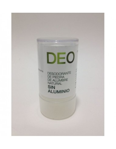 DEO DESODORANTE DE ALUMBRE NATURAL 120gr