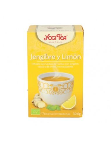 YOGUI TEA JENJIBRE Y LIMÓN