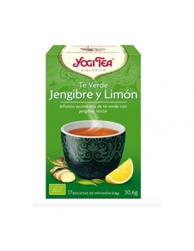 YOGUI TEA VERDE JENJIBRE Y LIMÓN