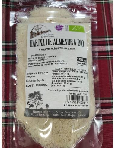 HARINA DE ALMENDRA BIO 100G