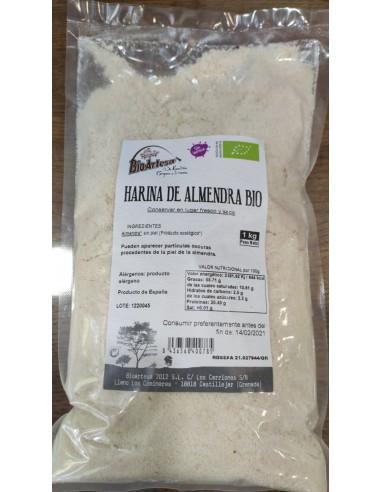 HARINA DE ALMENDRA 1KG